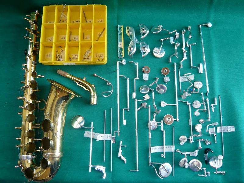 Riparare il sassofono