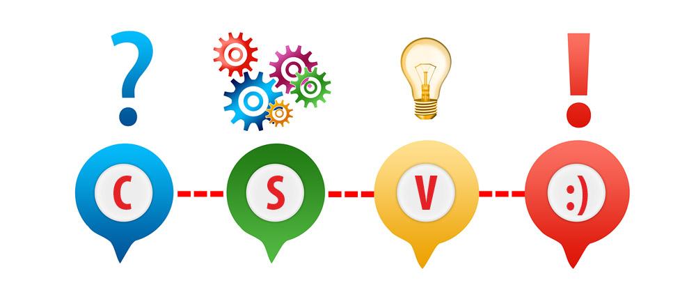 Importazione file CSV