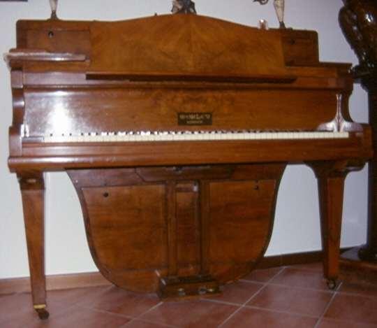 Pregevole pianoforte Verticoda originale Morley