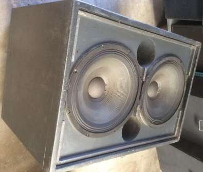 DAS Sub   woofer 218 Rference Series