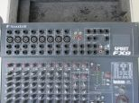 Mixer Soundcraft Folio Fx8 con Flight Case.