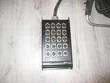 stage box proel 16 ingr 8out con ruote