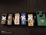pedali effetti reverb delay tube screamer